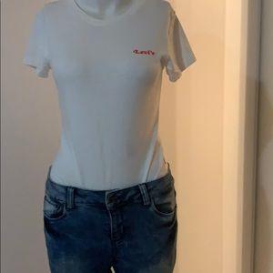 Levi's bodysuit in white